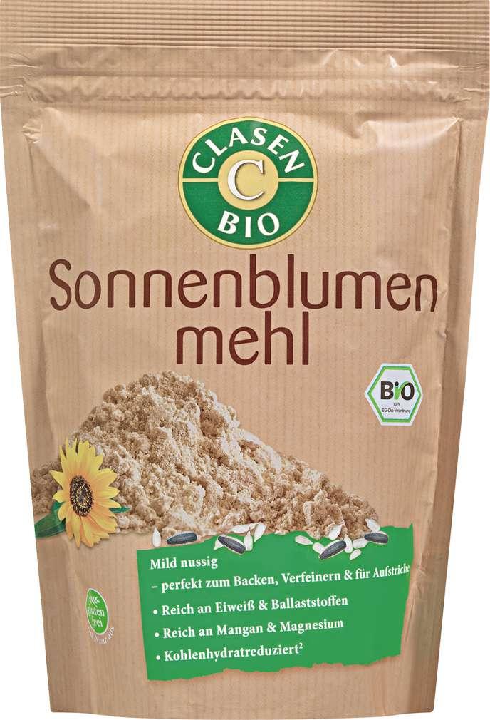 Abbildung des Sortimentsartikels Clasen Bio-Sonnenblumenmehl vegan 300g