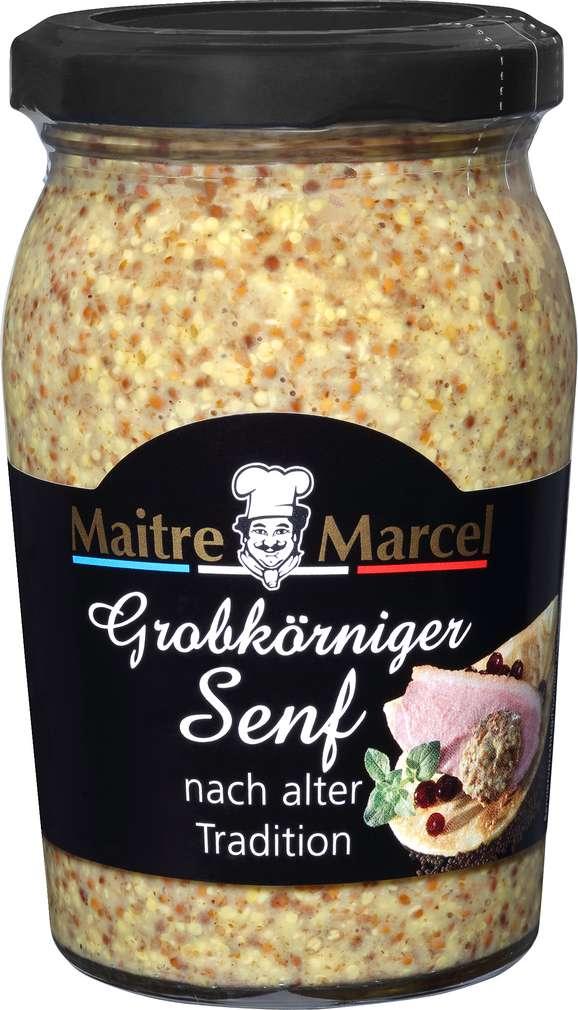 Abbildung des Sortimentsartikels Maitre Marcel Grobkörniger Senf 200ml