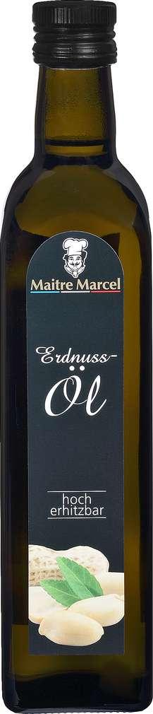 Abbildung des Sortimentsartikels Maitre Marcel Erdnussöl 500ml