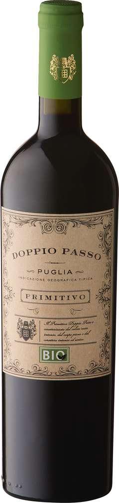 Abbildung des Sortimentsartikels Doppio Passo Puglia Primitivo rot 0,75l