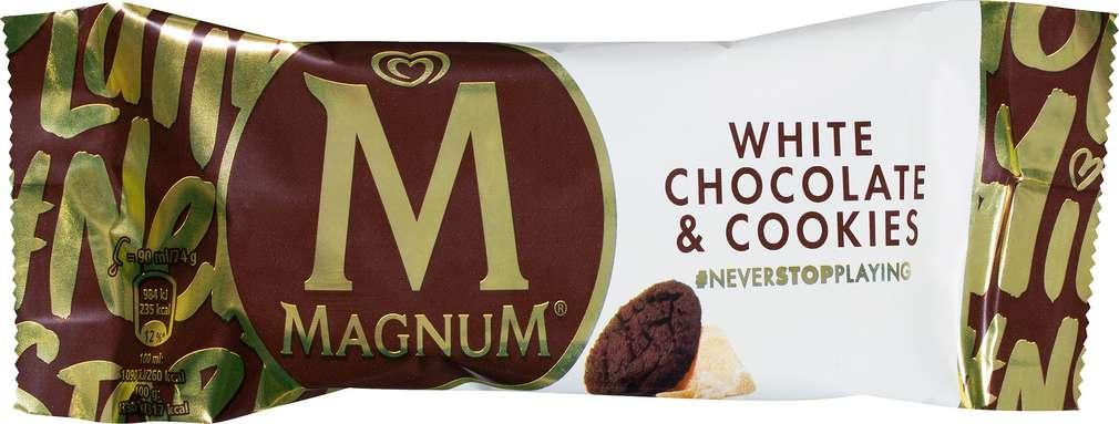 Abbildung des Sortimentsartikels Magnum White Choco & Cookies 90ml