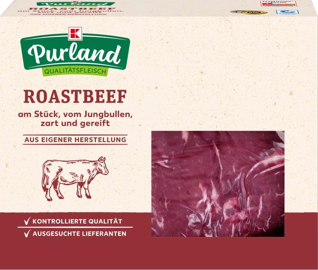 Abbildung des Sortimentsartikels K-Purland Roastbeef am Stück vom Jungbullen