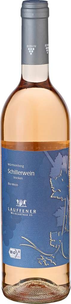 Abbildung des Sortimentsartikels Lauffener Weingärtner Schiller trocken 0,75l