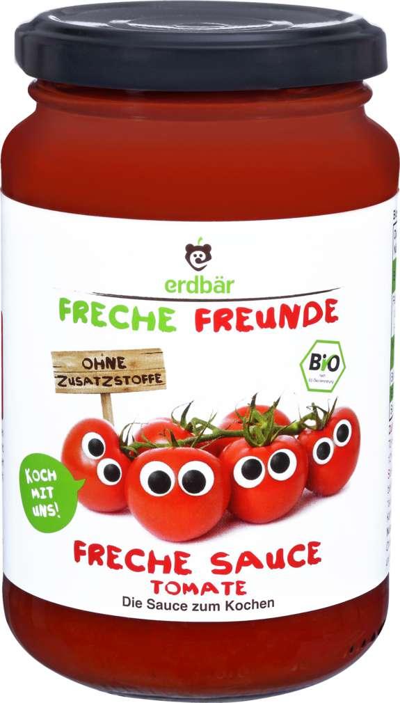 Abbildung des Sortimentsartikels Erdbär Freche Freunde Tomatensauce 350g