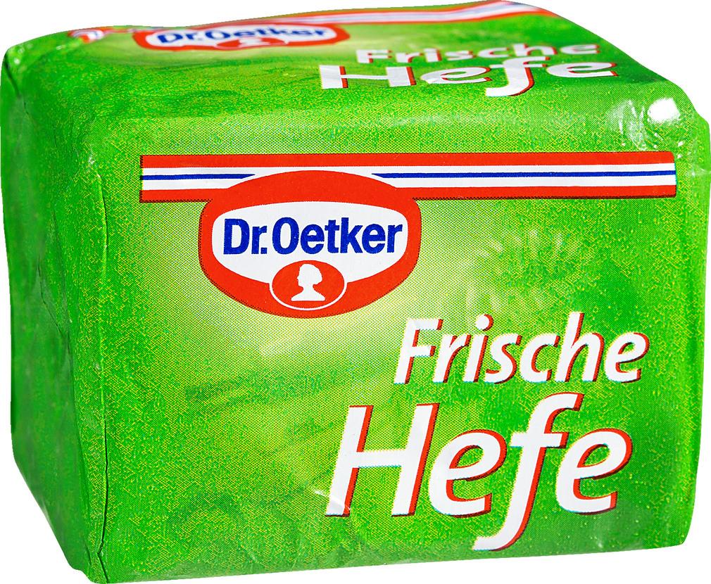 Abbildung des Sortimentsartikels Dr. Oetker Frische Hefe 42g