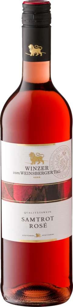 Abbildung des Sortimentsartikels Willsbacher Lovely & Rosé Samtrot QbA lieblich 0,75l