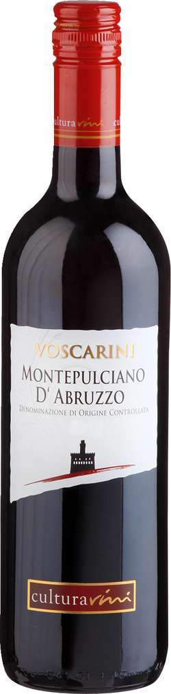 Abbildung des Sortimentsartikels Cultura Vini Montepulciano d'Abr. Voscarini Italien trocken 0,75l