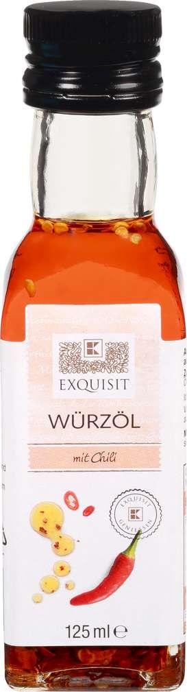 Abbildung des Sortimentsartikels Exquisit Würz-Olivenöl Chili 125ml