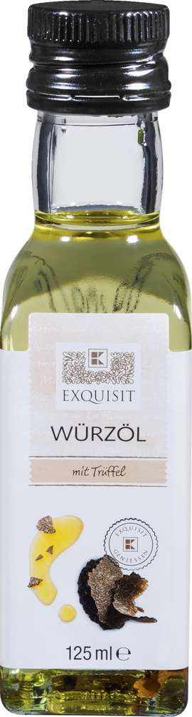 Abbildung des Sortimentsartikels Exquisit Würz-Olivenöl 125ml
