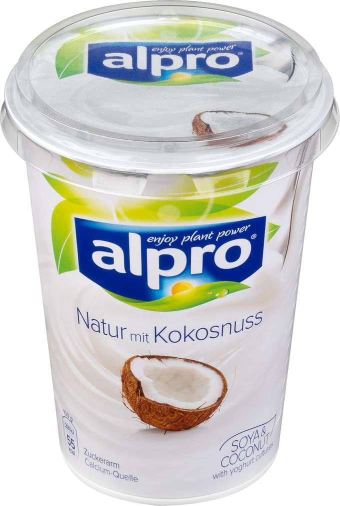 Abbildung des Sortimentsartikels Alpro Soja-Joghurtalternative natur mit Kokosnuss 500g