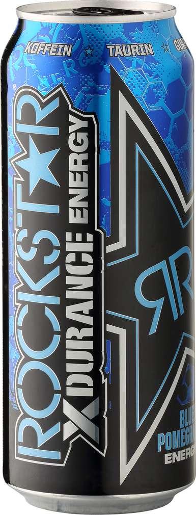 Abbildung des Sortimentsartikels Rockstar Energy Drink X-Durance Blueberry-Pomegrante-Acai 0,5l