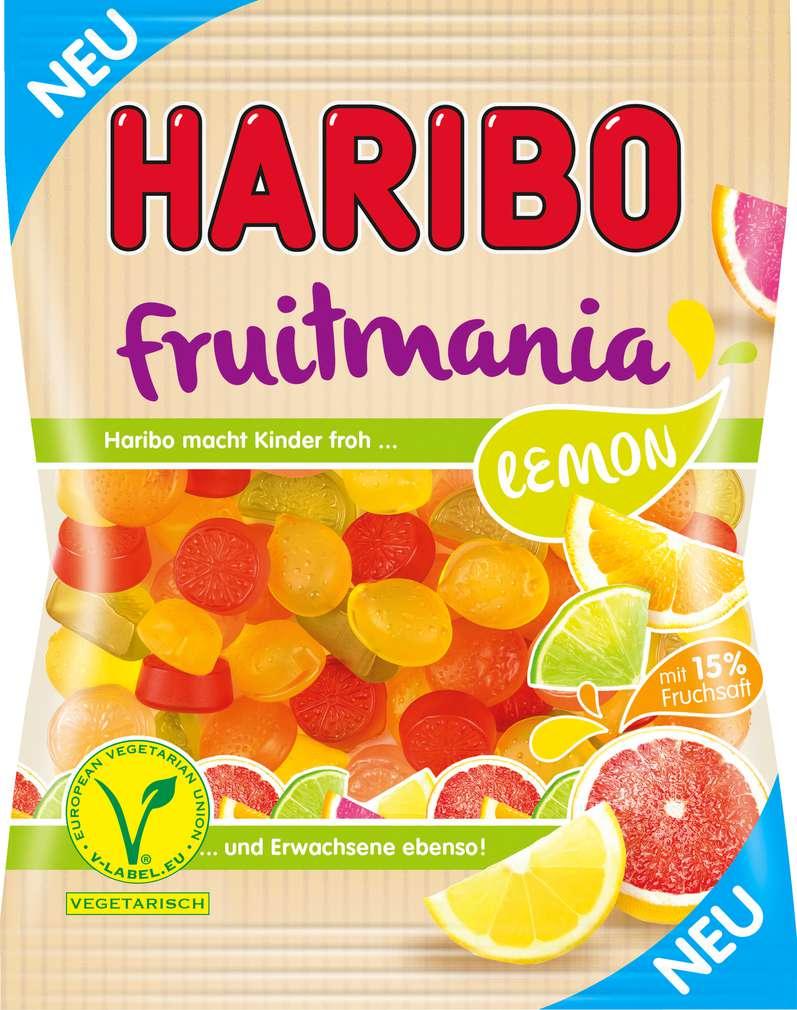 Abbildung des Sortimentsartikels Haribo Fruitmania Lemon 175g