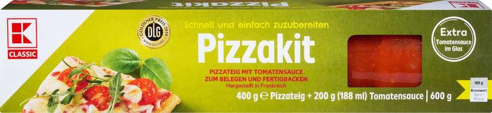 Abbildung des Sortimentsartikels K-Classic Pizzakit 600g