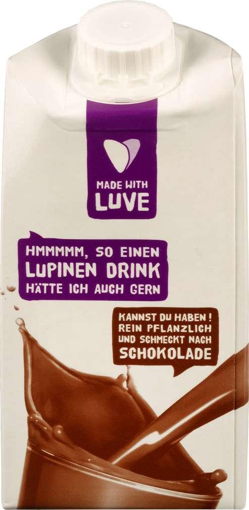 Abbildung des Sortimentsartikels Prolupin Lupinendrink Schokolade, vegan 1,0l