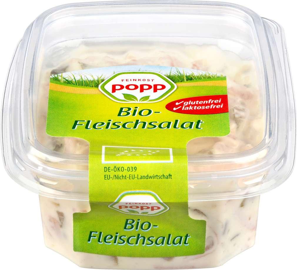 Abbildung des Sortimentsartikels Popp Bio-Fleischsalat 150g