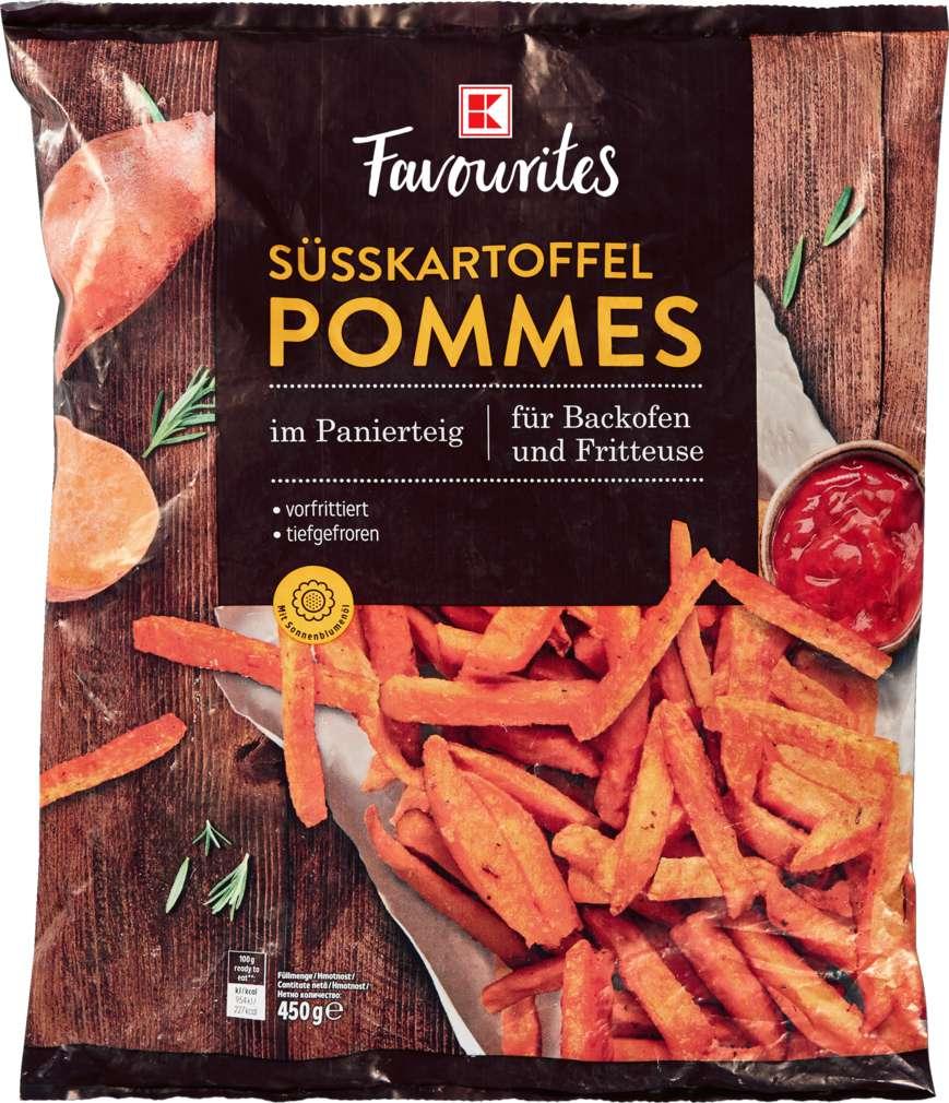 Abbildung des Sortimentsartikels K-Favourites Süßkartoffel-Pommes 450g