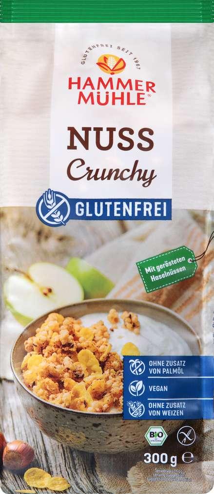 Abbildung des Sortimentsartikels Hammermühle Bio Nuss Crunchy gf 300g