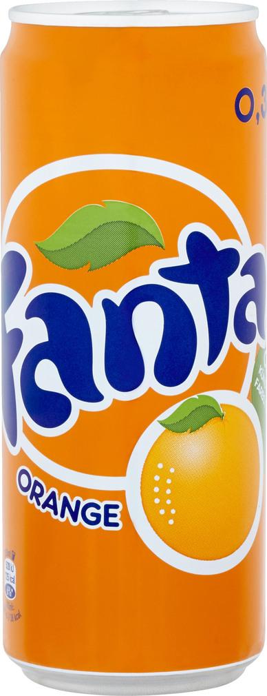 Abbildung des Sortimentsartikels Fanta Orange 0,33l