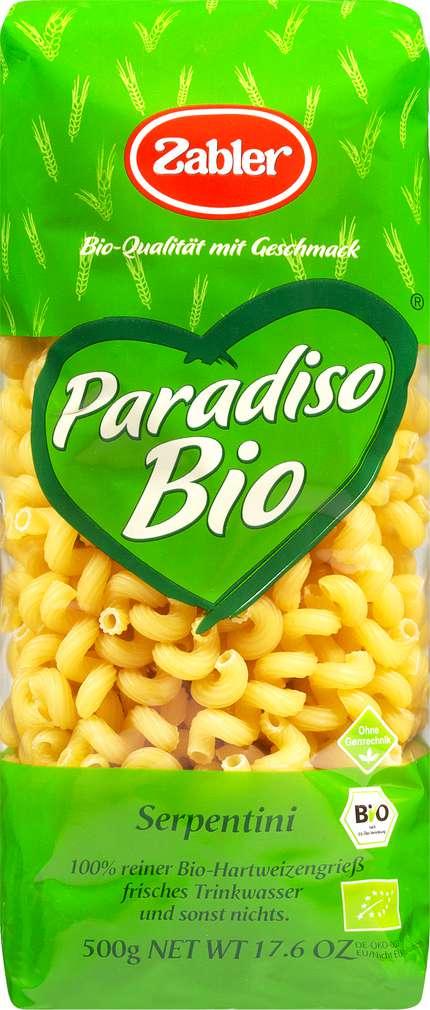 Abbildung des Sortimentsartikels Zabler Paradiso Bio-Serpentini 500g