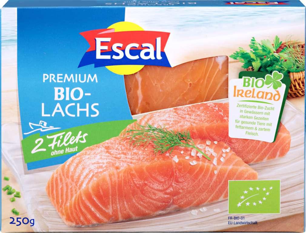 Abbildung des Sortimentsartikels Escal Bio-Lachsfilet Irland 250g