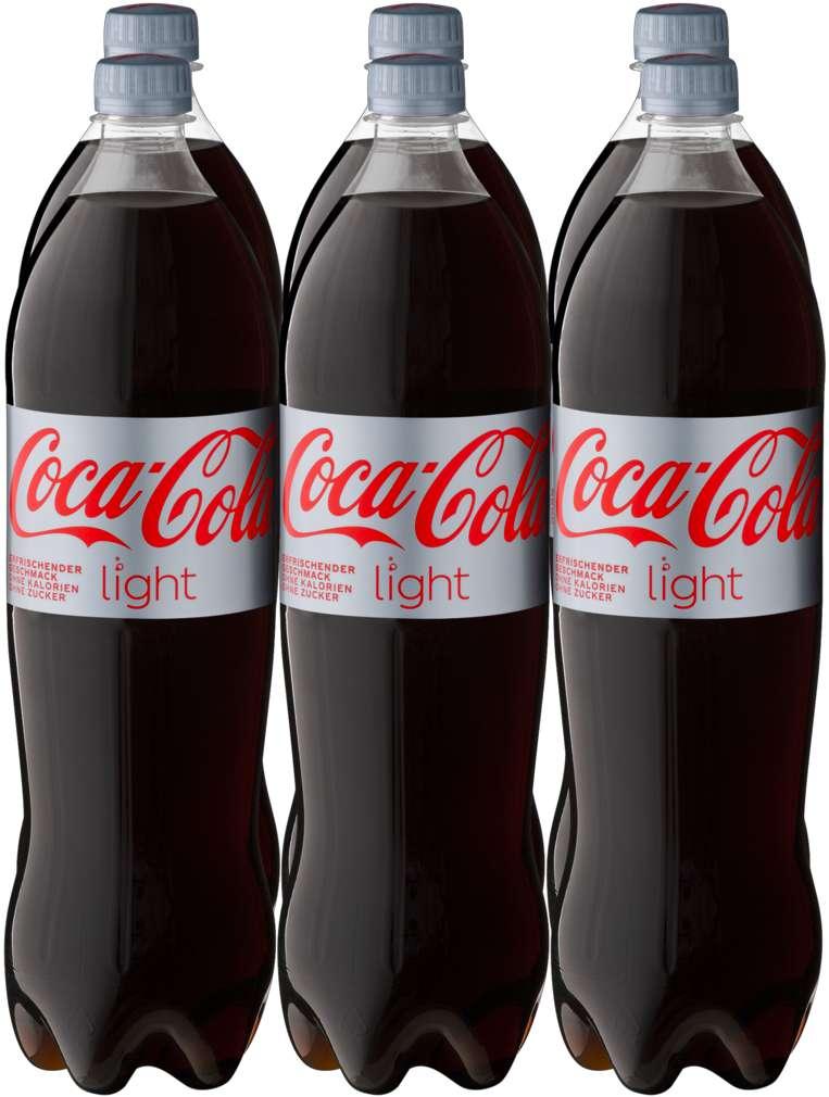 Abbildung des Sortimentsartikels Coca-Cola light 6x1,25l