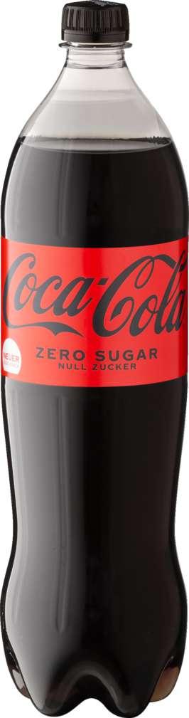 Abbildung des Sortimentsartikels Coca-Cola zero sugar 6x1,25l