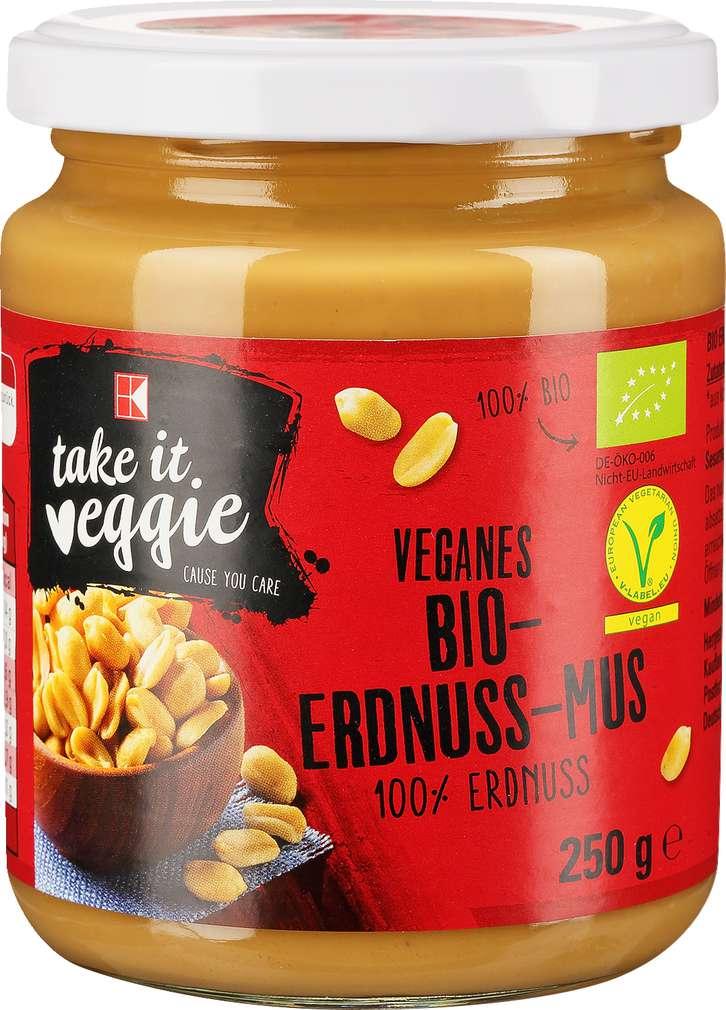 Abbildung des Sortimentsartikels K-Take it Veggie Erdnuss-Mus Bio 250g