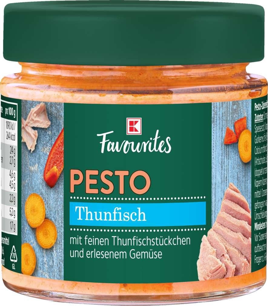 Abbildung des Sortimentsartikels Exquisit Pesto Thunfisch 190g