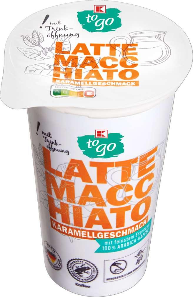 Abbildung des Sortimentsartikels K-To Go Latte Macchiato Karamell 250ml