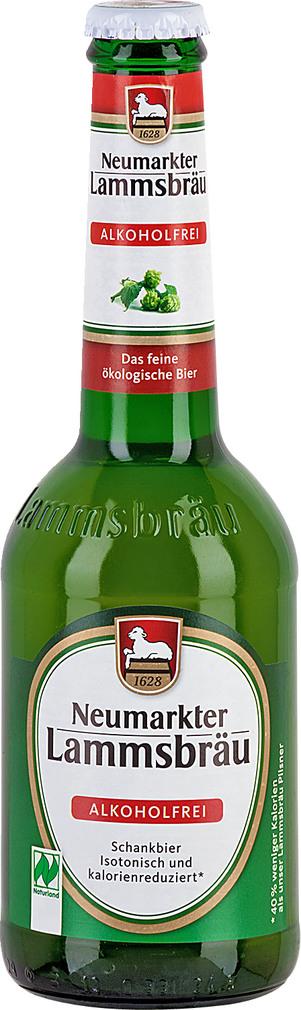 Abbildung des Sortimentsartikels Neumarkter Lammsbräu alkoholfrei 0,33l