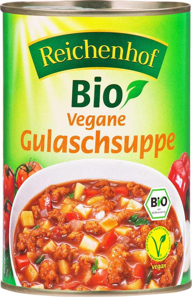 Abbildung des Sortimentsartikels Reichenhof Bio vegane Gulaschsuppe 400g