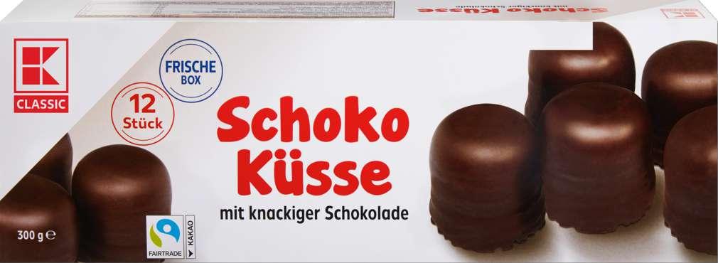 Abbildung des Sortimentsartikels K-Classic Schokoküsse 12 Stück 300g