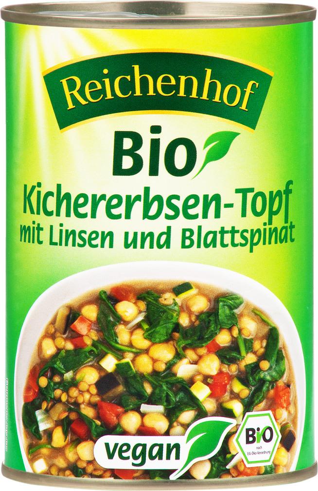 Abbildung des Sortimentsartikels Reichenhof Bio Kichererbsen 400g