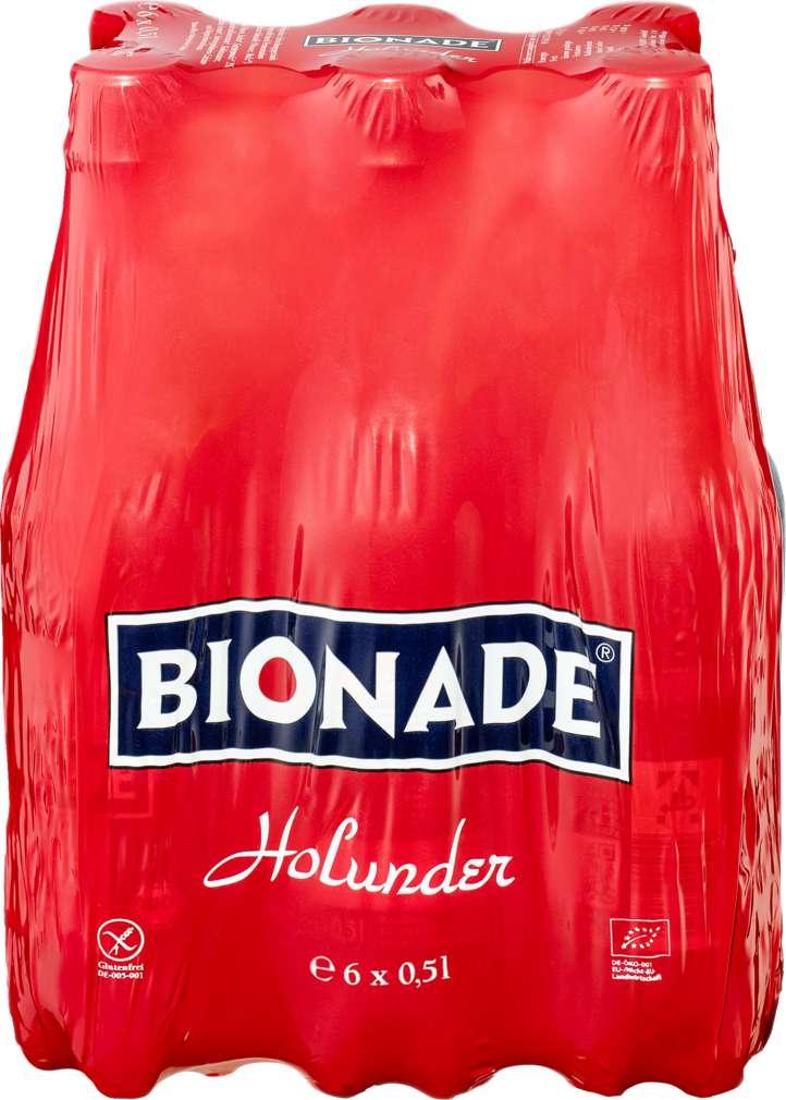 Abbildung des Sortimentsartikels Bionade Holunder 6x0,5l