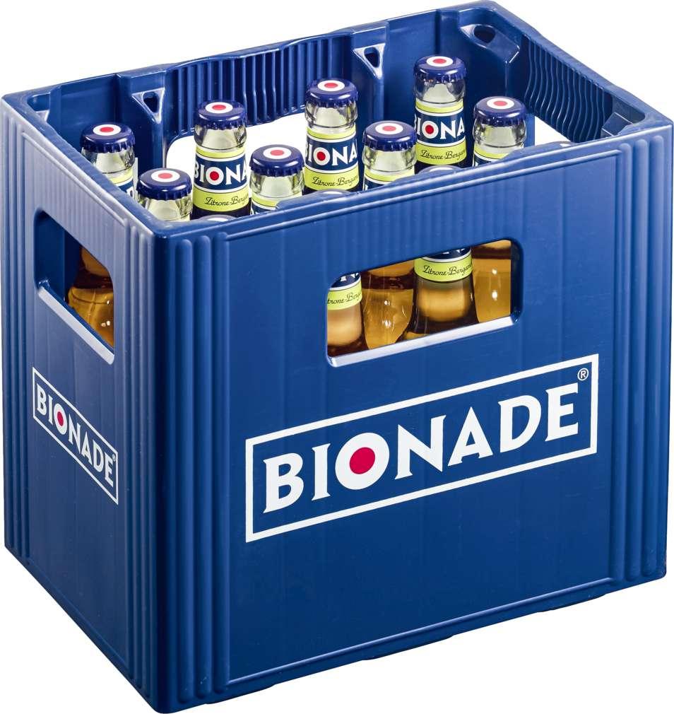 Abbildung des Sortimentsartikels Bionade Zitrone-Bergamotte 12x0,33l