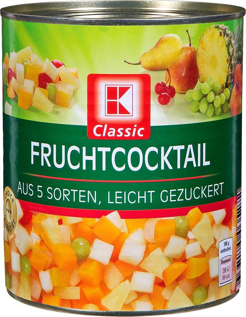 Abbildung des Sortimentsartikels K-Classic Fruchtcocktail 820g