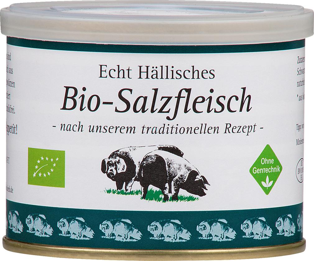 Abbildung des Sortimentsartikels BESH Echt Hällisches Bio-Salzfleisch 200g