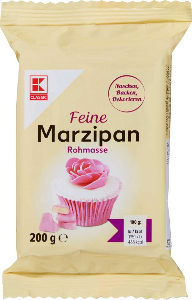 Abbildung des Sortimentsartikels K-Classic Marzipan Rohmasse fein 200g