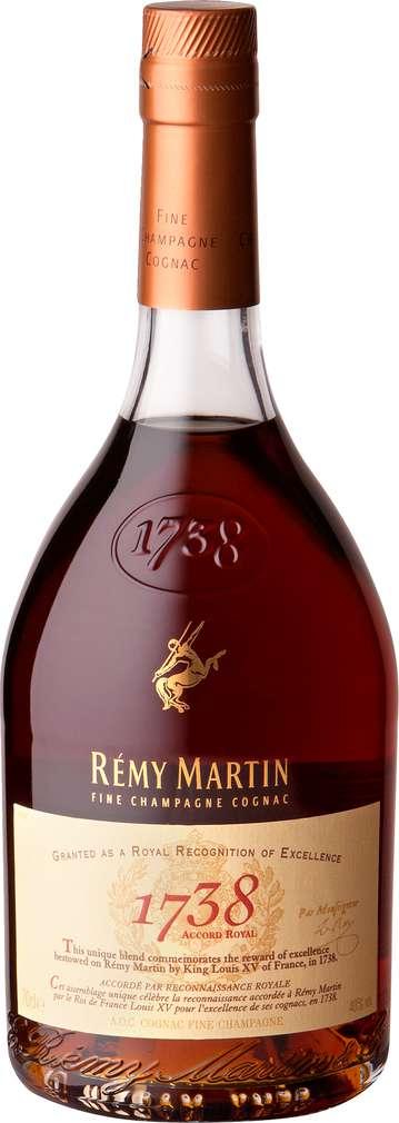 Abbildung des Sortimentsartikels Rémy Martin 1738 Cognac 0,7l