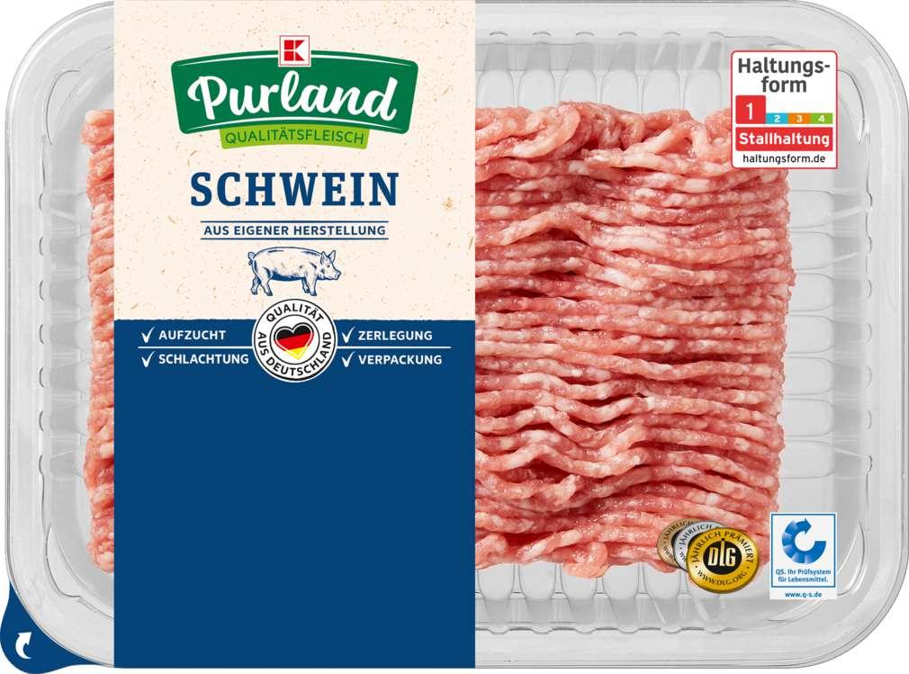 Abbildung des Sortimentsartikels K-Purland Hackepeter Schweinemett gewürzt 250g