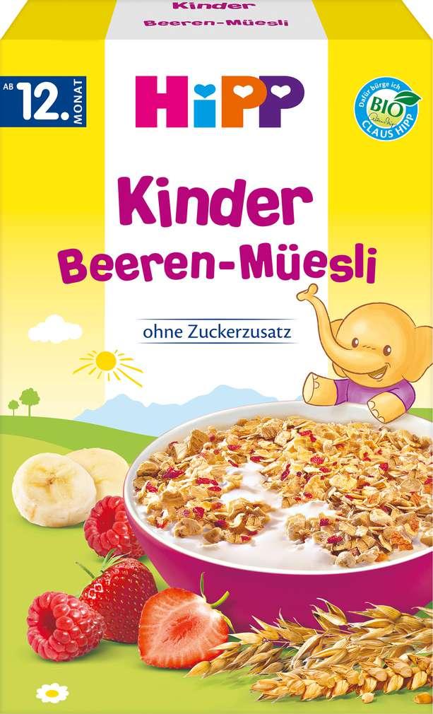 Abbildung des Sortimentsartikels Hipp Kinder Beeren-Müesli 200g