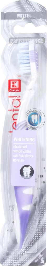Abbildung des Sortimentsartikels K-Classic dental Zahnbürste Performance Whitening Mittel