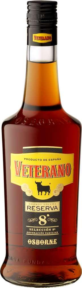 Abbildung des Sortimentsartikels Osborne Veterano Reserva 8a Brandy 0,7l