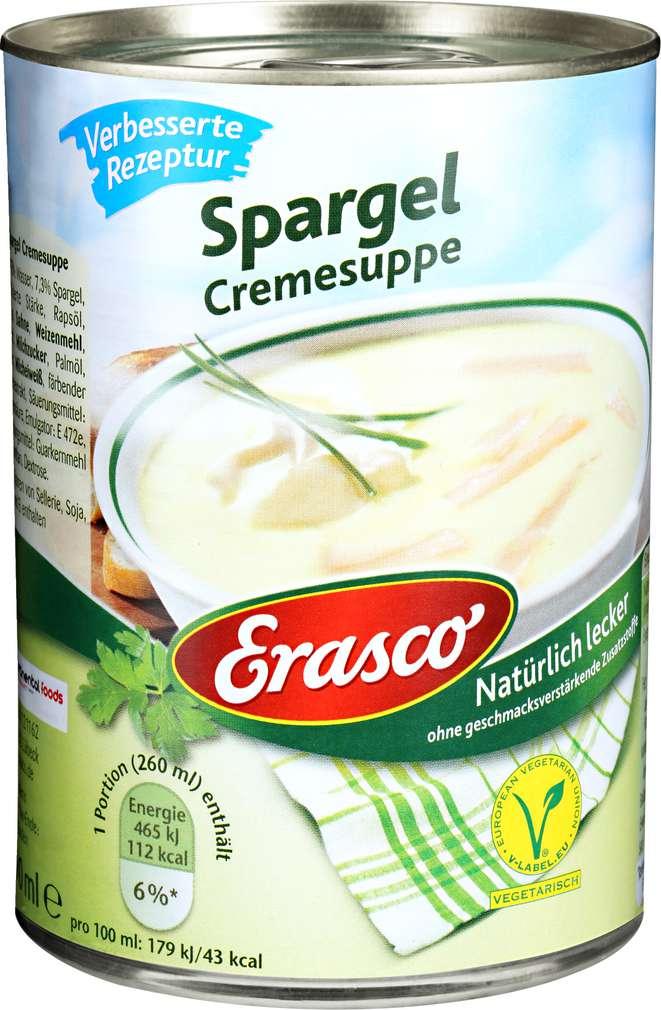 Abbildung des Sortimentsartikels Erasco Spargel-Cremesuppe 390ml