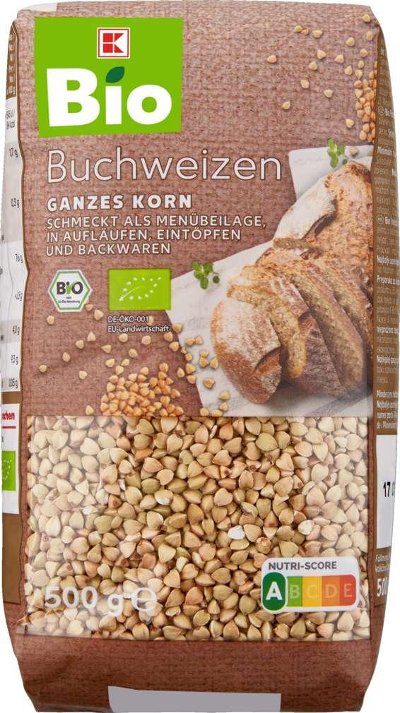Abbildung des Sortimentsartikels K-Bio Buchweizen 500g