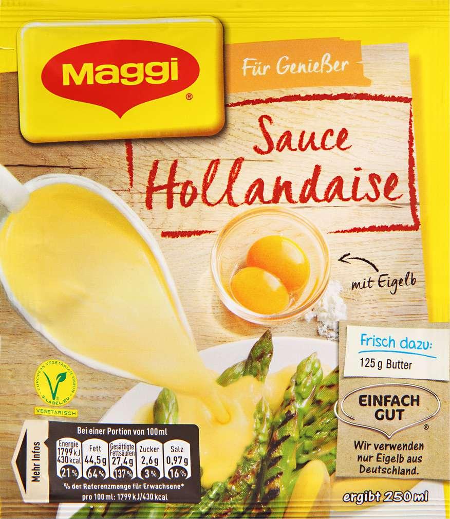 Abbildung des Sortimentsartikels Maggi Sauce Hollandaise 33g