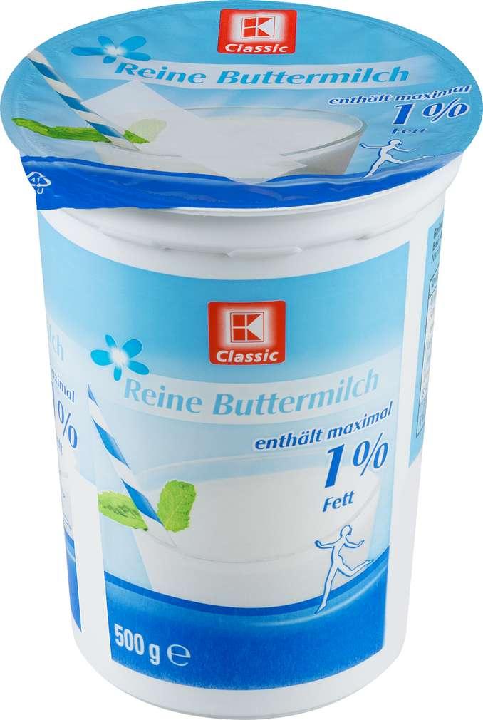 Abbildung des Sortimentsartikels K-Classic Reine Buttermilch 1% Fett 500g