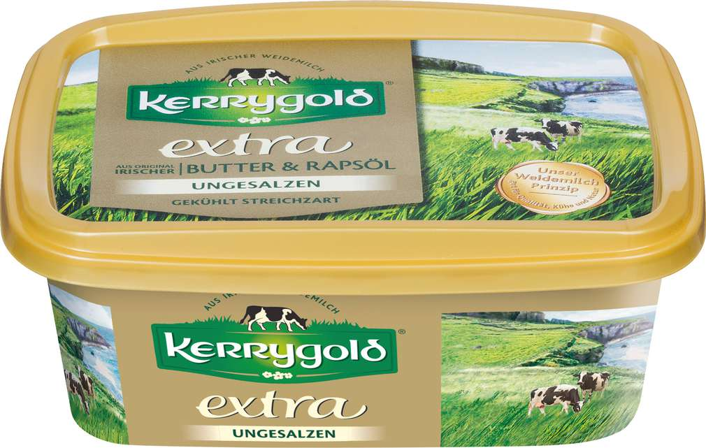 Abbildung des Sortimentsartikels Kerrygold Extra ungesalzen 250g