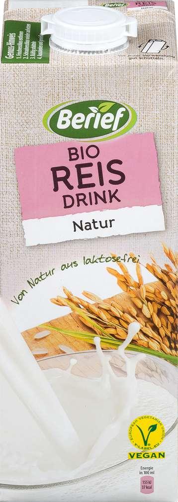 Abbildung des Sortimentsartikels Berief Bio Reis Drink Natur 1l