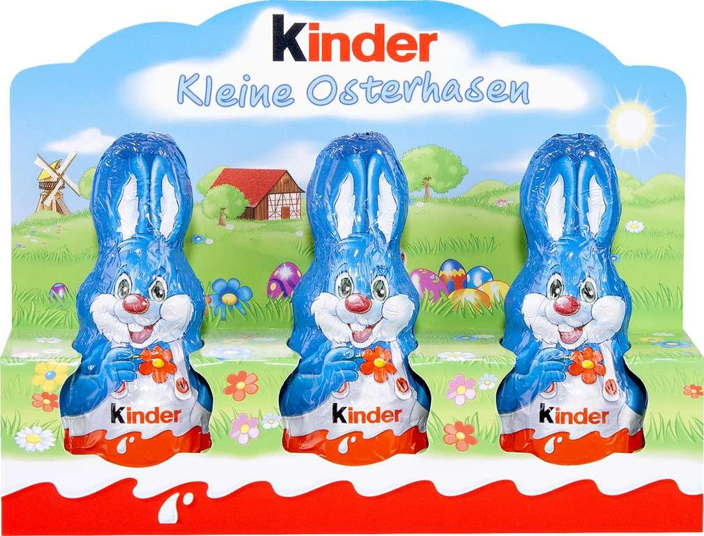 Abbildung des Sortimentsartikels Ferrero Kleine Osterhasen 3x15g